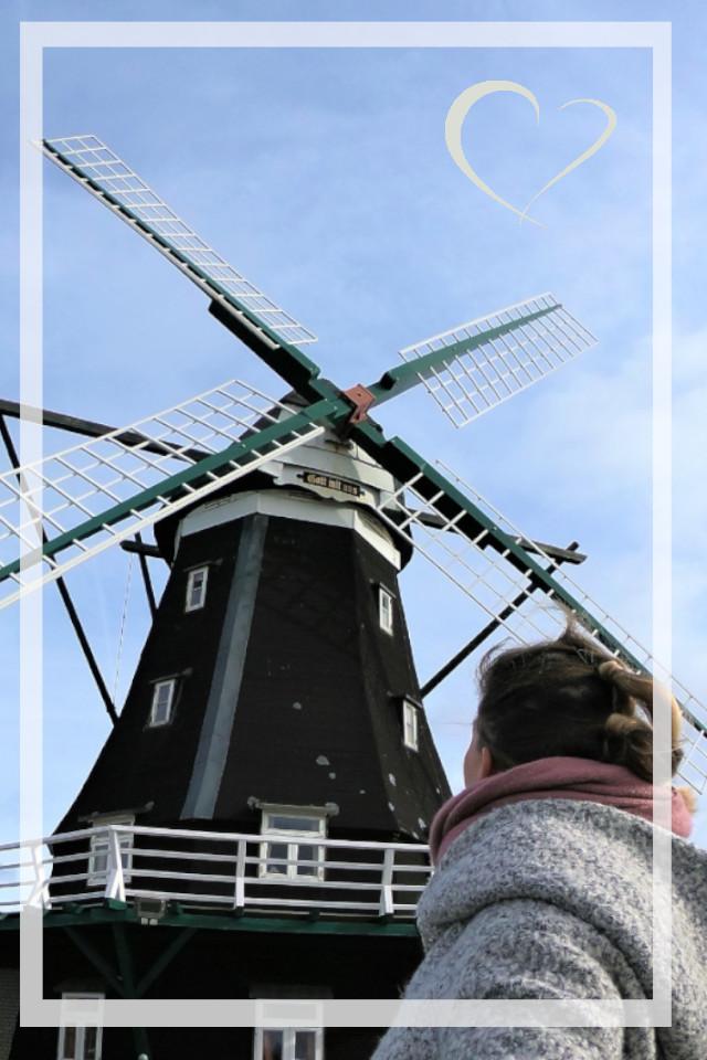 wunderschöne alte Mühle