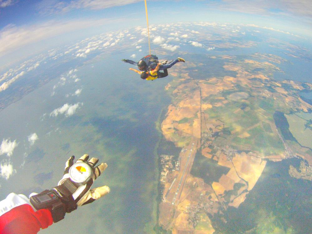 4000 Meter hoch über Usedom